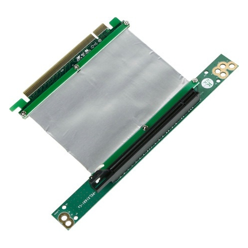 iStarUSA PCIe x16 to PCIe x16 Riser Card with Various Length Ribbon Cable DD-666-C5