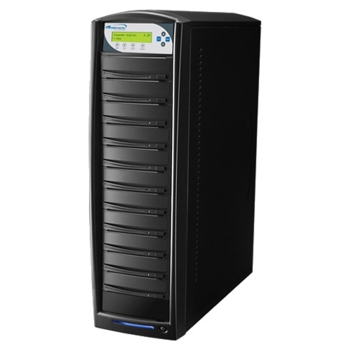 Vinpower Digital SharkCopier SATA DVD/CD Tower Duplicator - 24x SHARK-S10T-BK