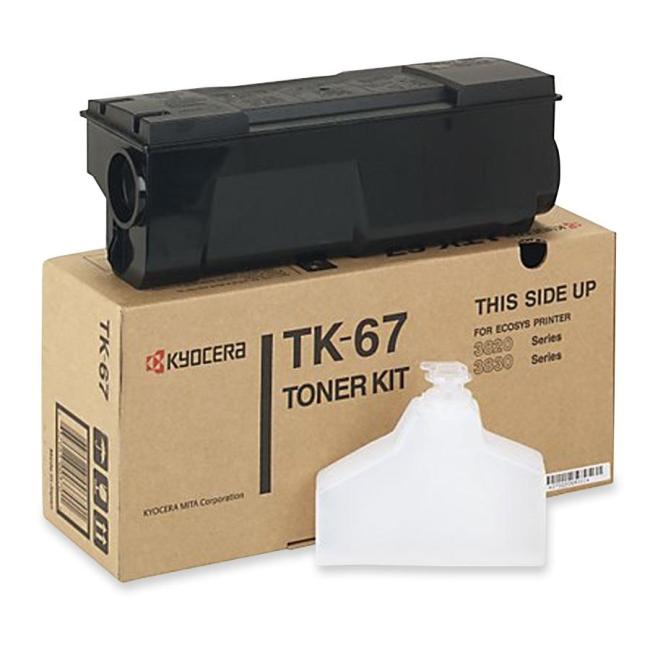 Kyocera Black Toner Cartridge TK-67 KYOTK67