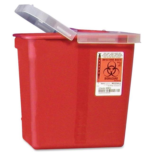 Covidien Kendall Sharp Container with Lid SRHL100990 CVDSRHL100990
