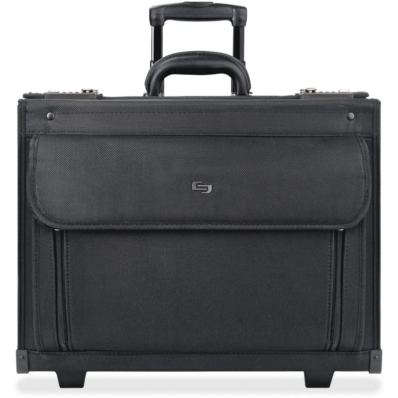 "Solo Classic 17"" Rolling Catalog Case B78-4 USLB784"