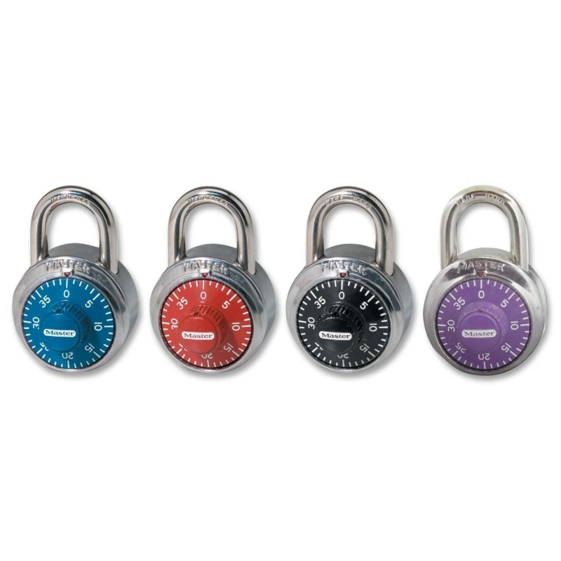 Master Lock Master Lock Colored Dial Combination Padlock 1505D MLK1505D