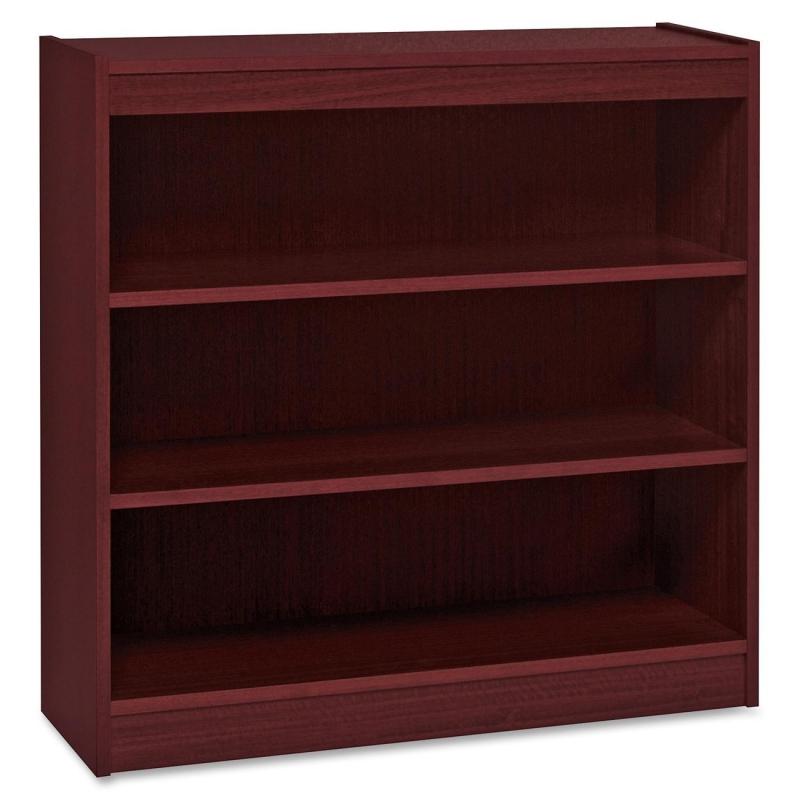 Lorell Panel End Hardwood Veneer Bookcase 60071 LLR60071