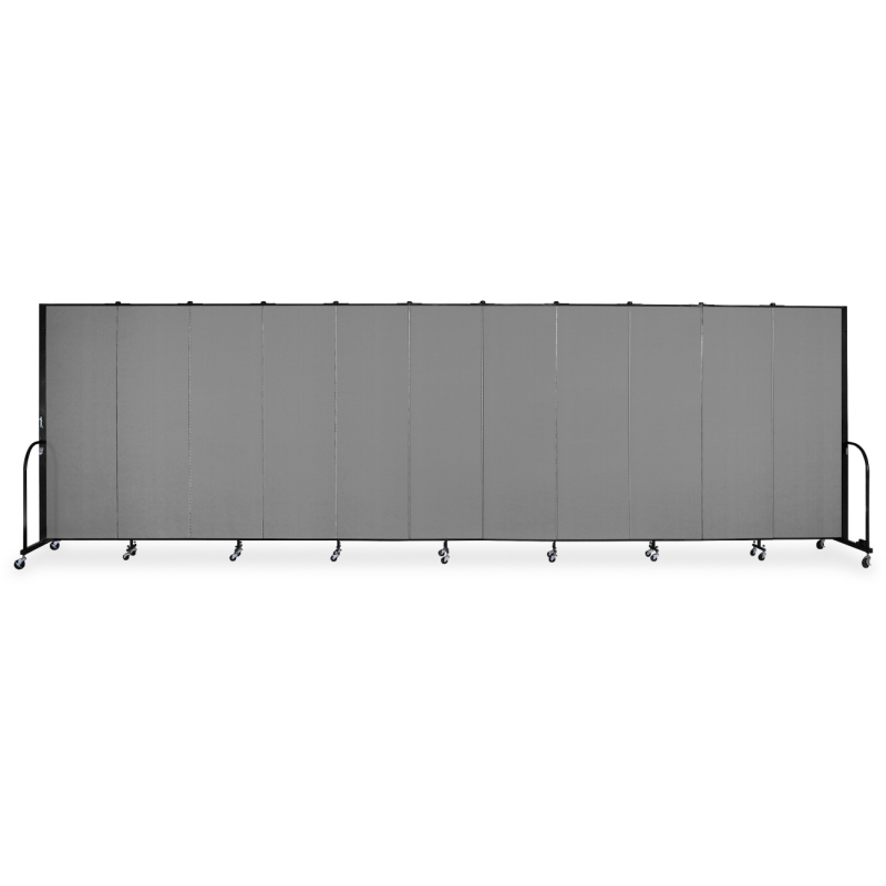 Screenflex FREEstanding 11 Panels Portable Partition CFSL6011DG SCXCFSL6011DG CFSL6011-DG