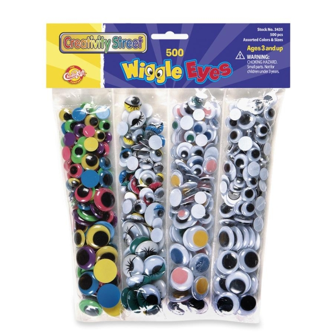 ChenilleKraft Wiggle Eyes 3435 CKC3435