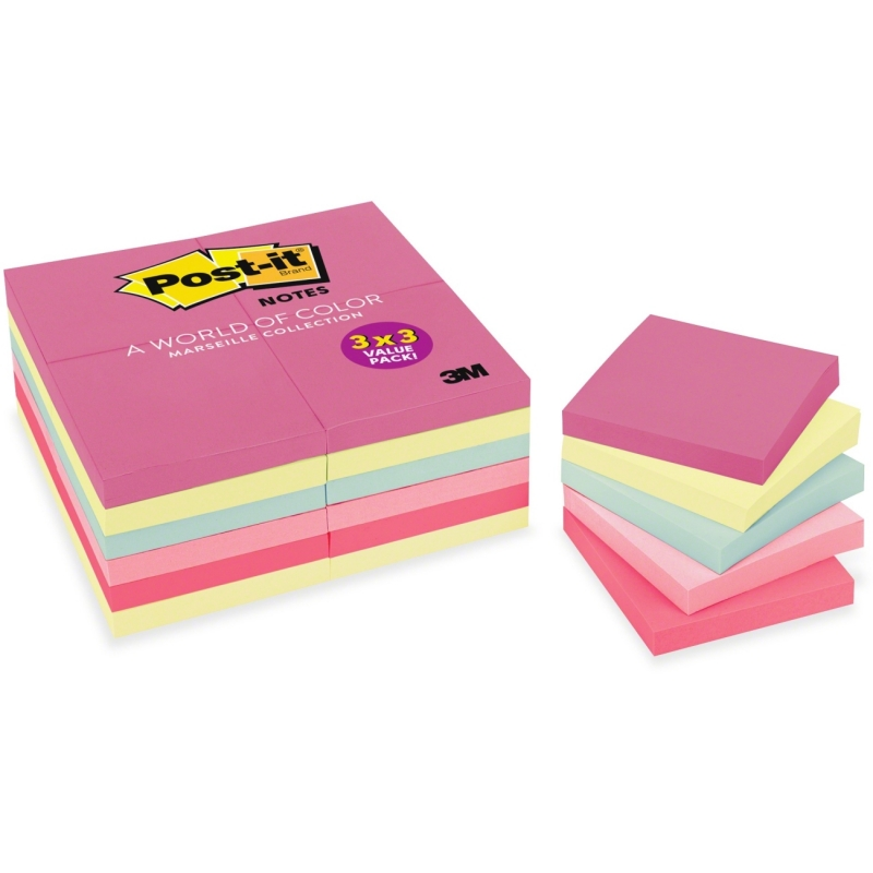 Post-it Post-it Value Pack in Marseille Colors 65424APVAD MMM65424APVAD