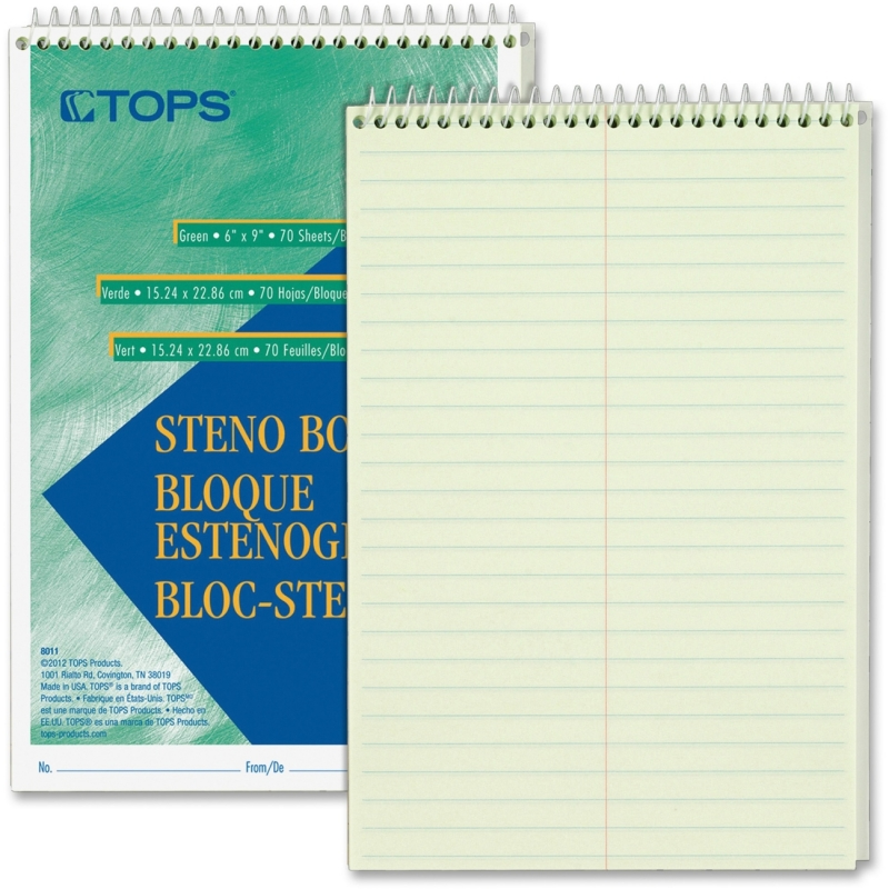 TOPS Steno Book 8011 TOP8011