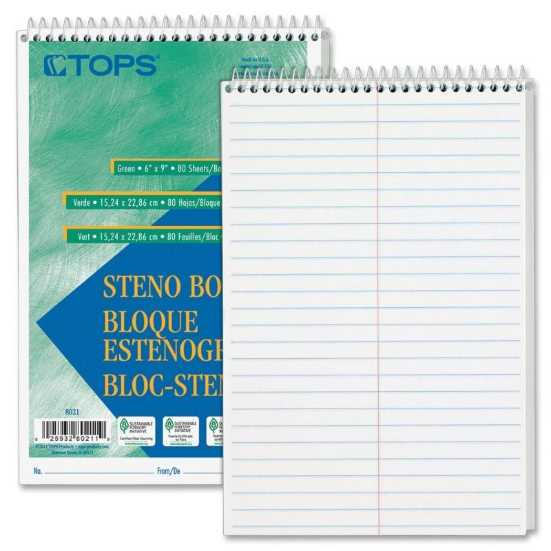 TOPS Steno Book 8020 TOP8020