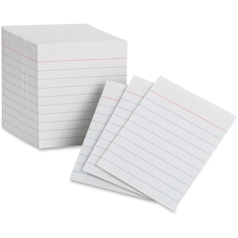 Oxford Mini Index Card 10009 OXF10009