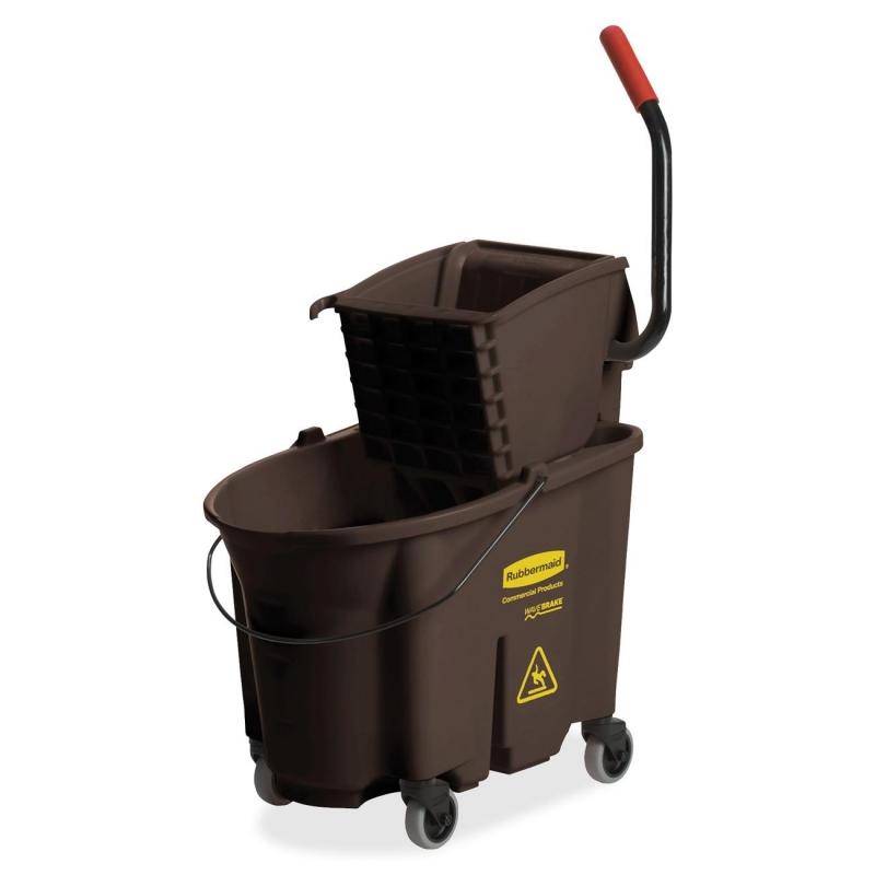 Rubbermaid Rubbermaid WaveBrake Bucket/Wringer Combination 758088BN RCP758088BN 758088