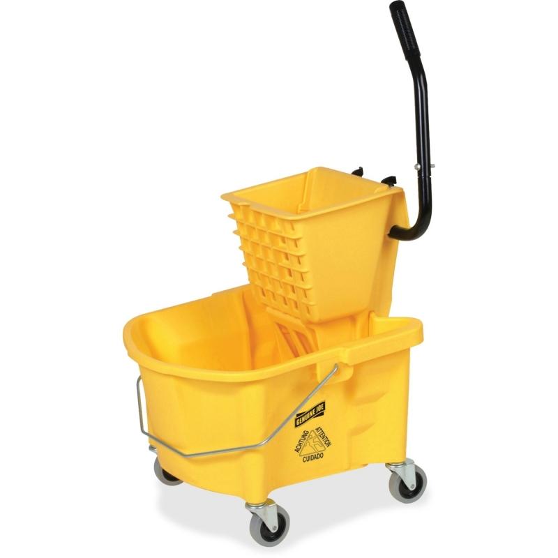 Genuine Joe Splash Guard Mop Bucket/Wringer 60466 GJO60466