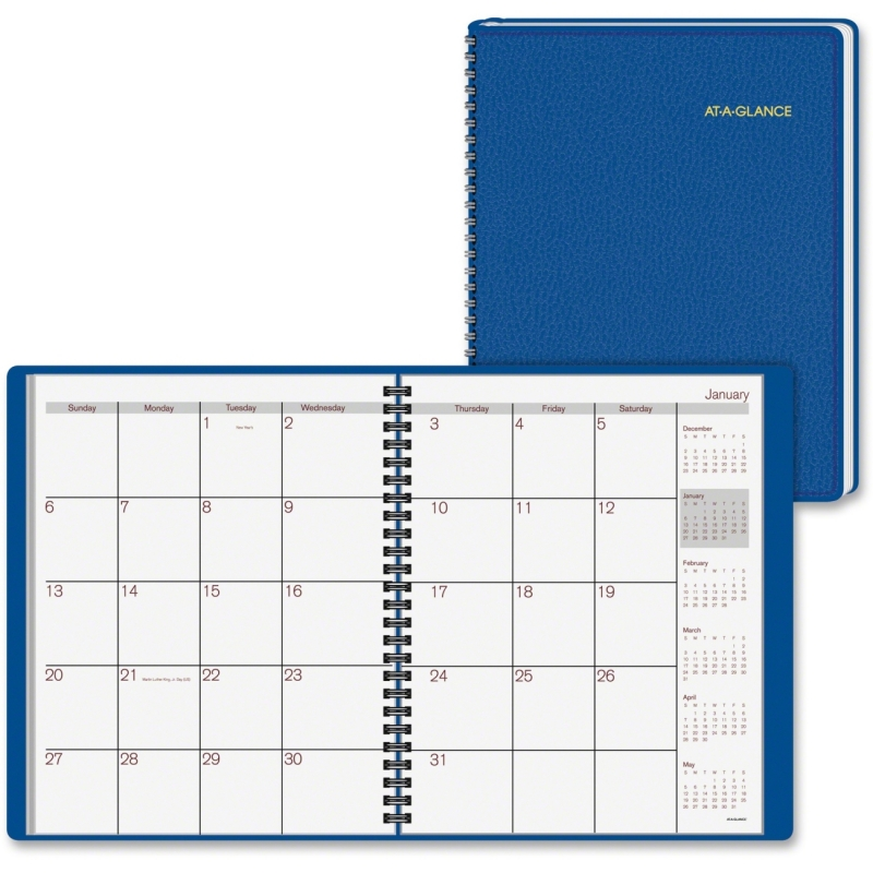 At-A-Glance Fashion Desk Monthly Planner 70-124-20 AAG7012420
