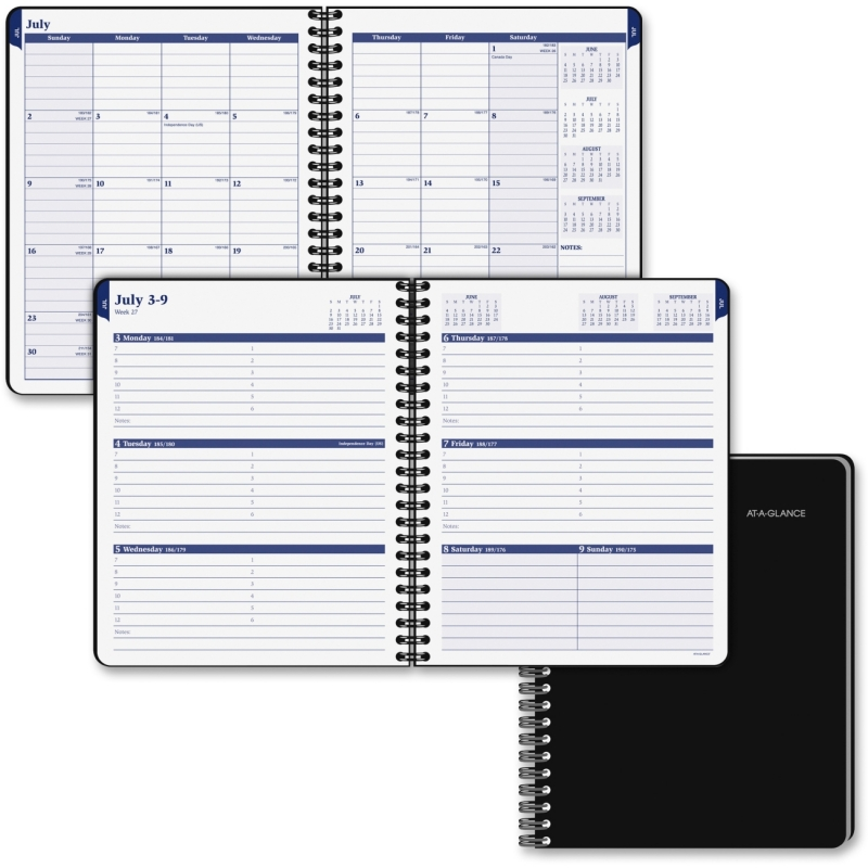At-A-Glance Collegiate Monthly Appointment Book 70-CP01-05 AAG70CP0105