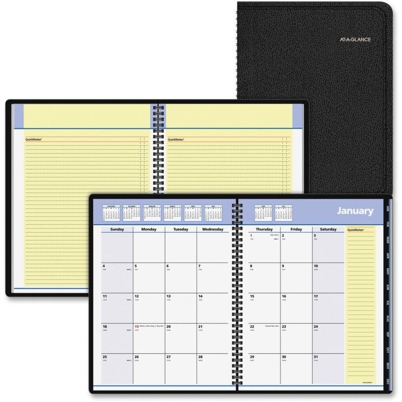 At-A-Glance At-A-Glance QuickNotes Monthly Planner 760805 AAG760805