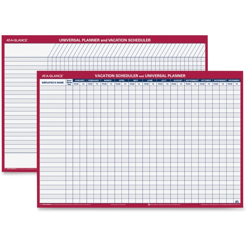At-A-Glance Plan-A-Month Wall Planner PM250-28 AAGPM25028