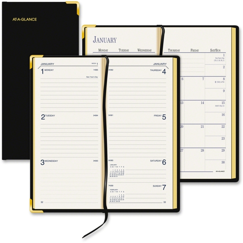 At-A-Glance Fine Pocket Diary 70-1110-05 AAG70111005