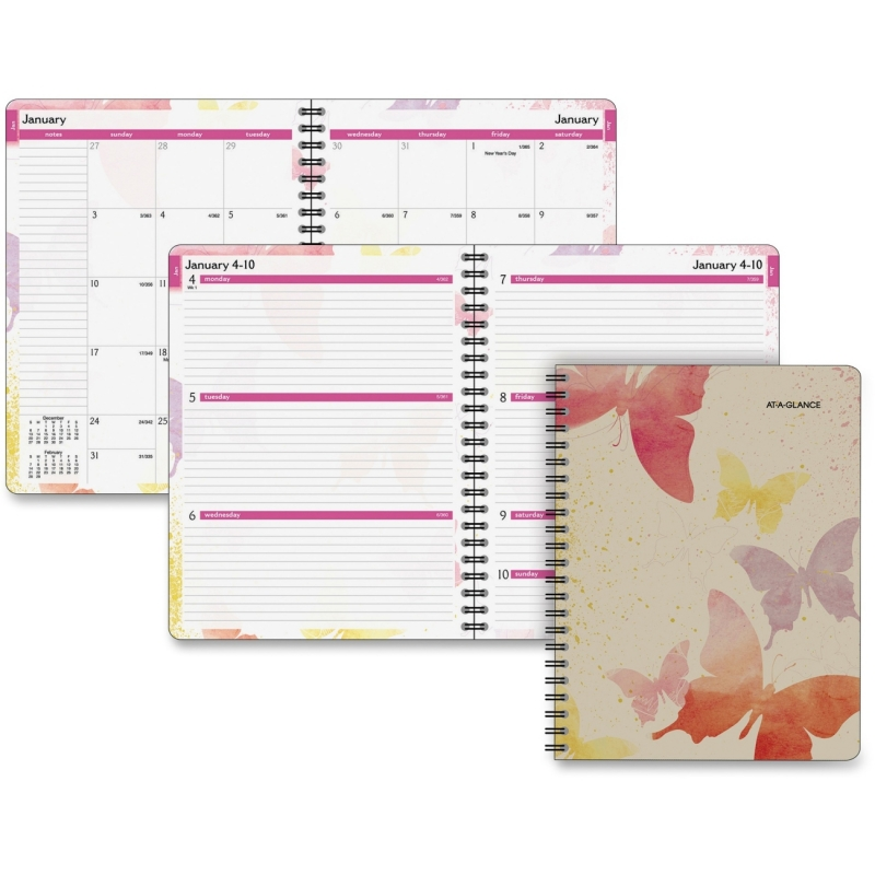 Day Runner Vibrant Watercolors Planner 791905G AAG791905G