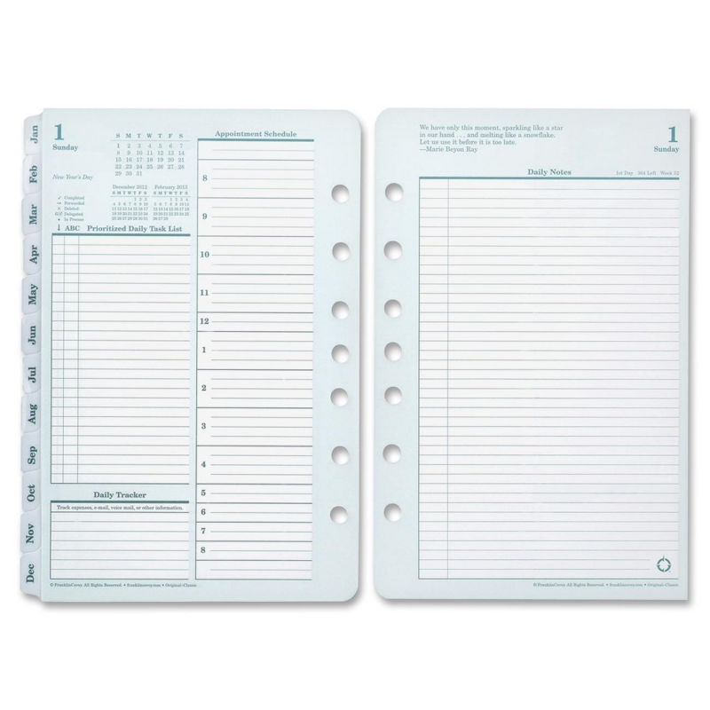 Franklin Covey Monarch Planner Refill 35427 FDP35427