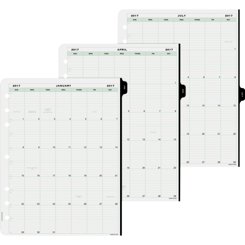 Day-Timer Daily Planner Refill 14010 DTM14010