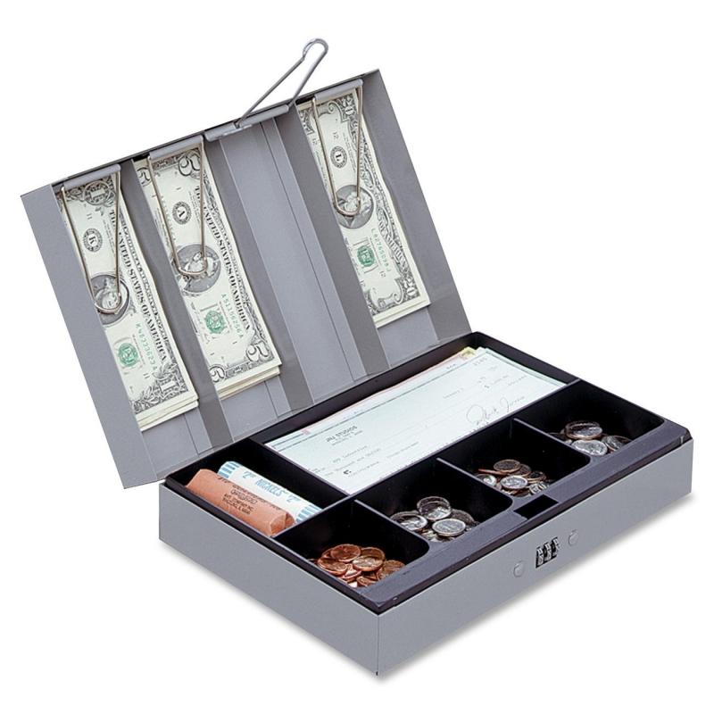 Sparco Steel Combination Lock Cash Box 15508 SPR15508