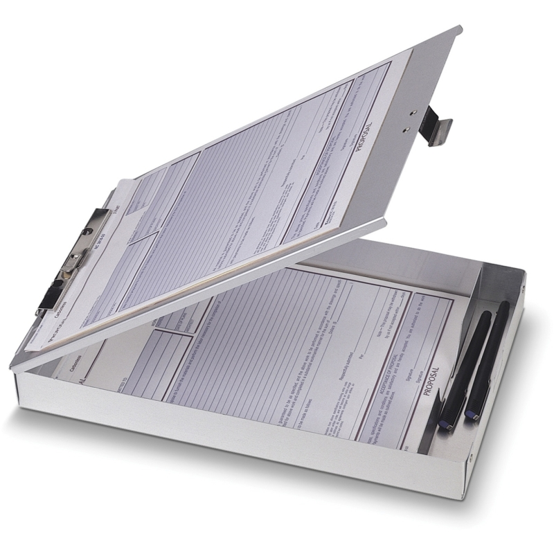 OIC Aluminum Storage Clipboard 83200 OIC83200