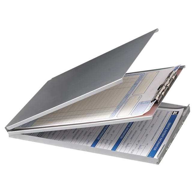 OIC Aluminum Storage Clipboard 83206 OIC83206