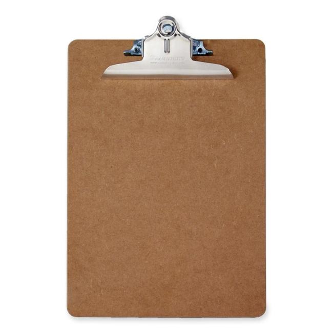 Saunders Recycled Memo Size Hardboard Clipboard 05610 SAU05610