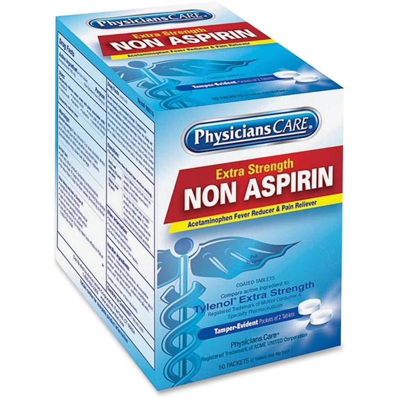 PhysiciansCare Non Aspirin Pain Reliever 40800 ACM40800