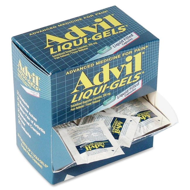 Advil Liquid-Gels 016902 ACM016902