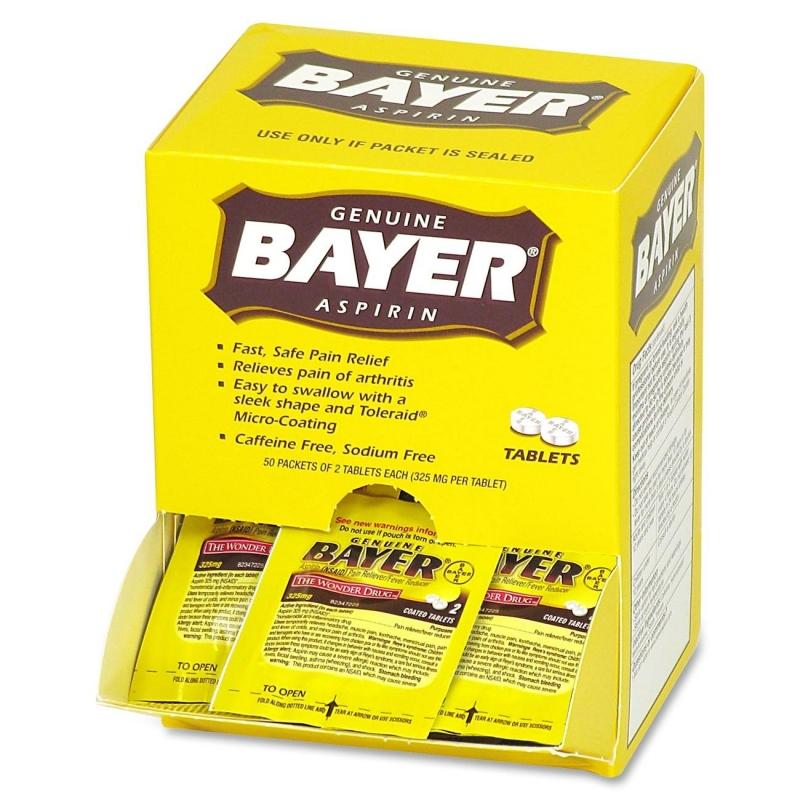 Bayer Aspirin Single Dose Packets 12408 ACM12408