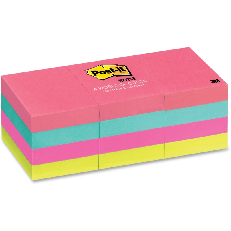 Post-it Post-it Cape Town Notes 653AN MMM653AN