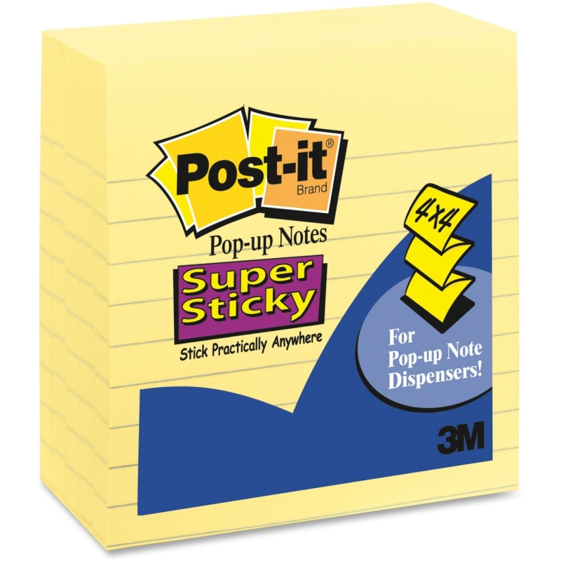 Post-it Super Sticky Pop-up Note MMM R440-YWSS MMMR440YSS
