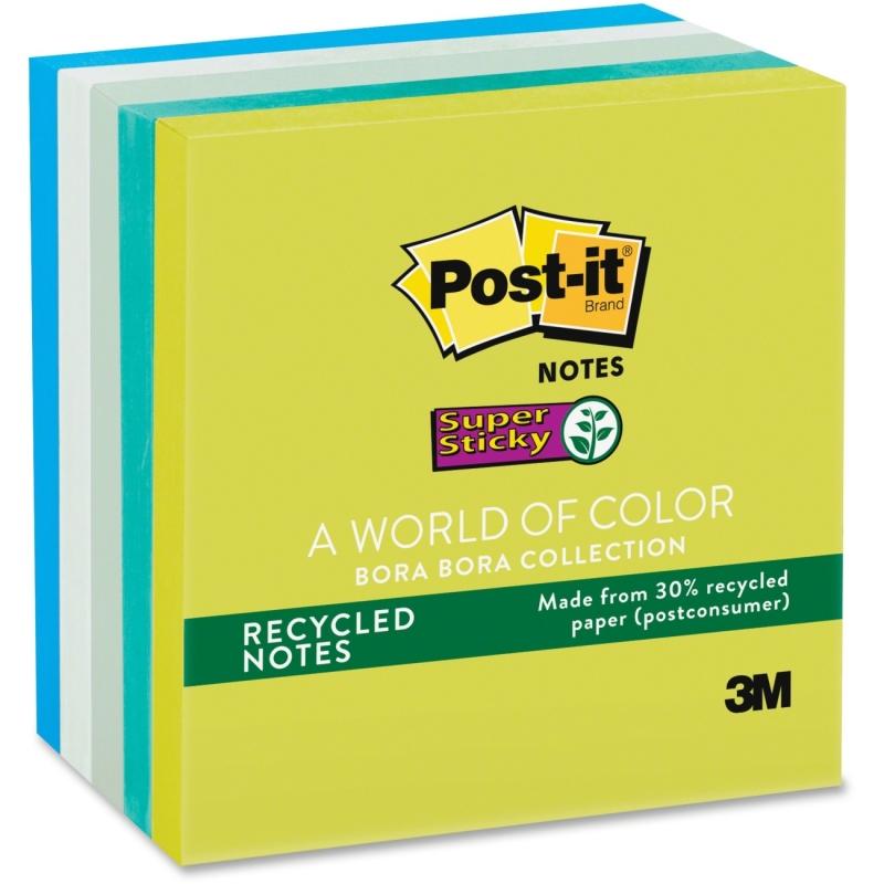 Post-it Post-it Super Sticky Bora Bora Notes 6545SST MMM6545SST