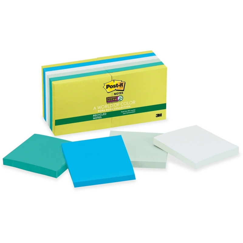Post-it Post-it Super Sticky Bora Bora Notes 65412SST MMM65412SST