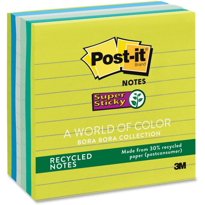 Post-it Post-it Super Sticky Bora Bora Notes 6756SST MMM6756SST