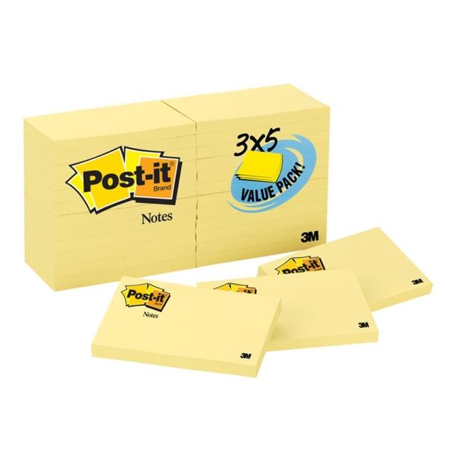 Post-it Post-it Classic Note 65524VADB MMM65524VADB