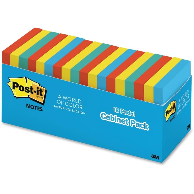 Post-it Post-it Pop-up Jaipur Notes R33018AUCP MMMR33018AUCP