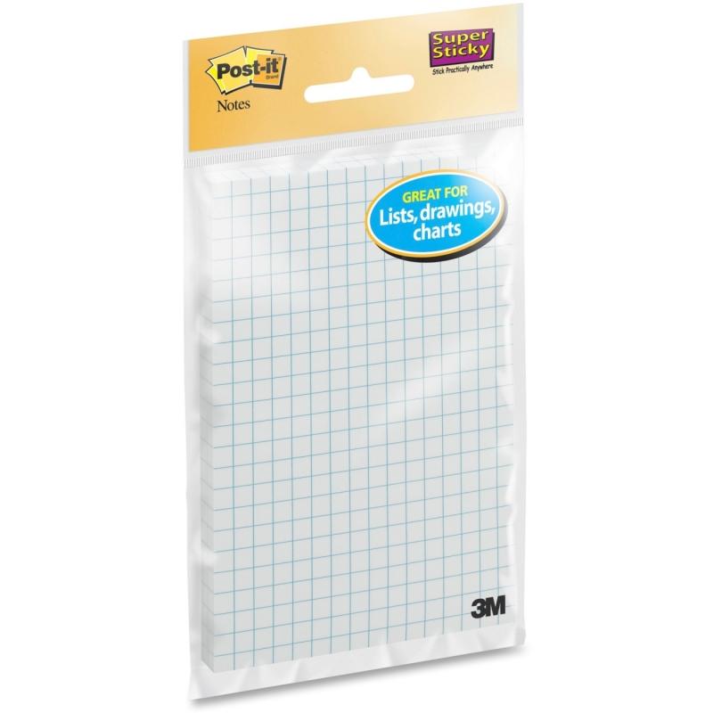 Post-it Post-it Super Sticky Grid Note 660SSGRID MMM660SSGRID