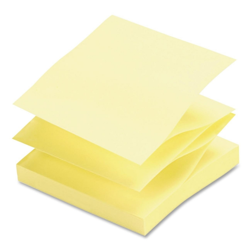 Sparco Pop-up Adhesive Fanfold Note Pad 70403 SPR70403