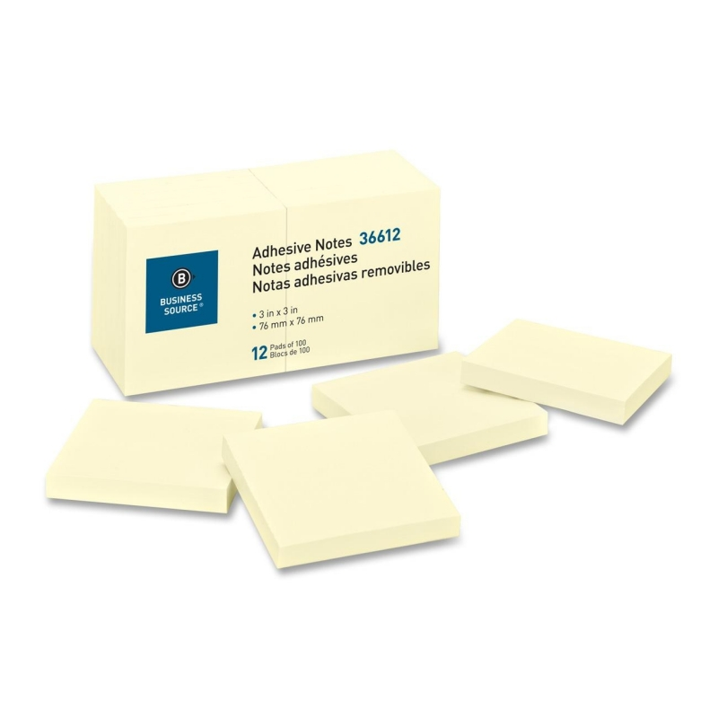 Business Source Adhesive Note 36612 BSN36612