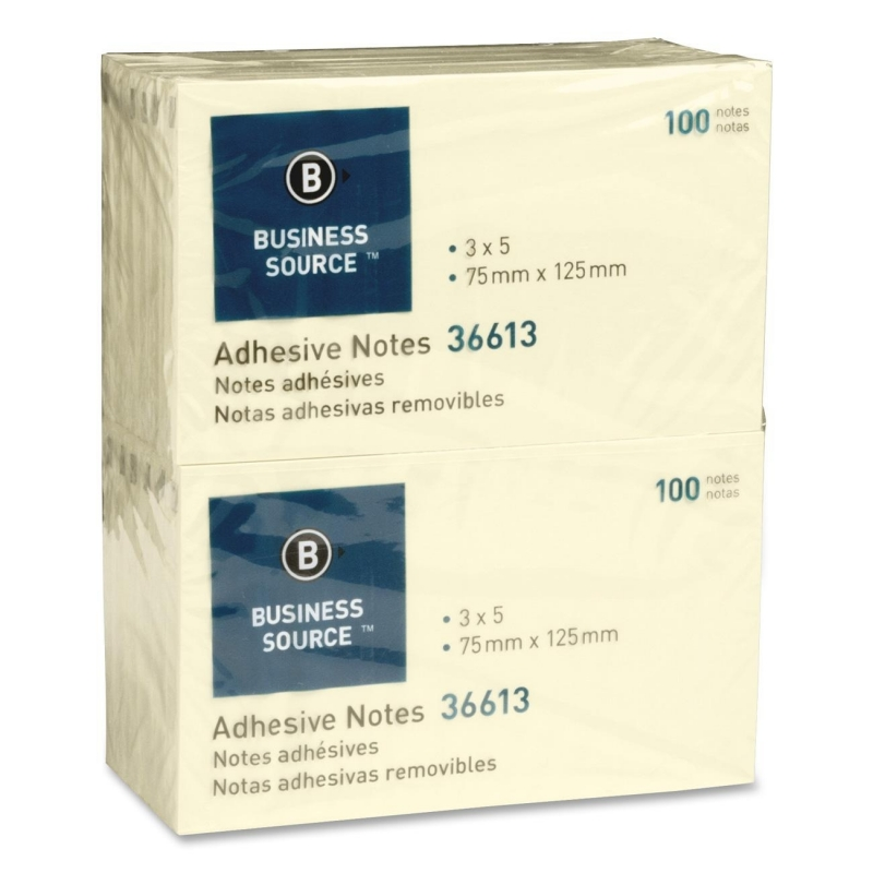 Business Source Adhesive Note 36613 BSN36613
