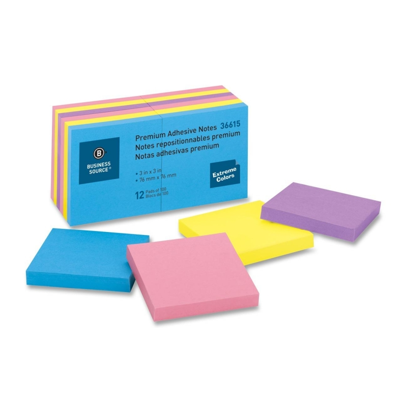 Business Source Adhesive Note 36615 BSN36615
