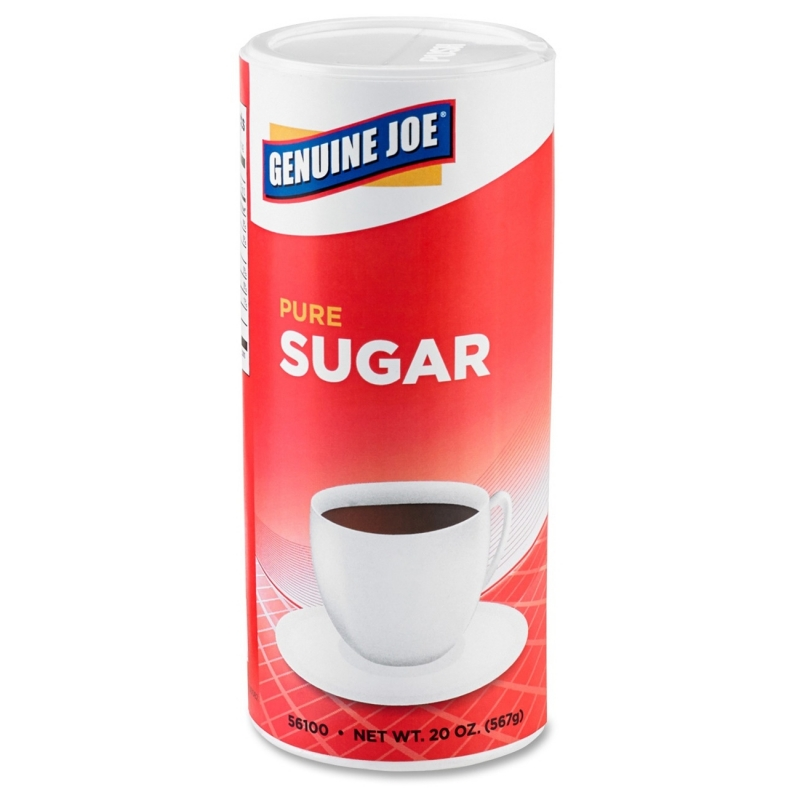 Genuine Joe Pure Sugar Canister 56100 GJO56100