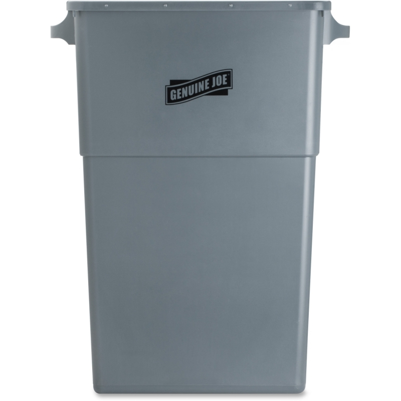 Genuine Joe Space-saving Waste Container 60465 GJO60465