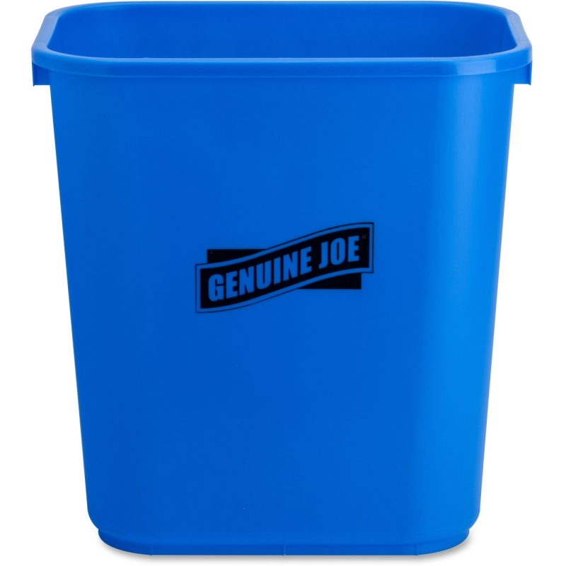 Genuine Joe Recycle Wastebasket 57257 GJO57257