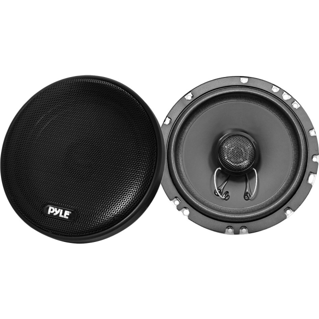 Pyle 6.5'' 200 Watt Slim Mount Two-Way Coaxial Speakers (Pair) PLSL6502