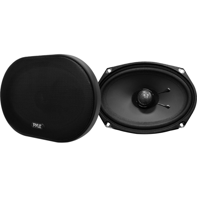 Pyle 6''x 9'' 240 Watt Slim Mount Two-Way Coaxial Speakers (Pair) PLSL6902