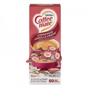 Coffee mate Liquid Coffee Creamer, Cinnamon Vanilla, 0.38 oz Mini Cups, 50/Box NES42498