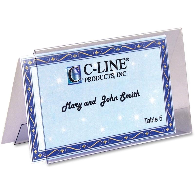 C-Line Name Tent Templates 87527 CLI87527