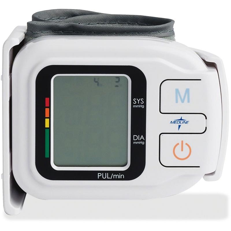 Medline Medline Plus Digital Wrist Blood Pressure Monitor, Bp, Wrist, Digital Unit MDS3003 MIIMDS3003